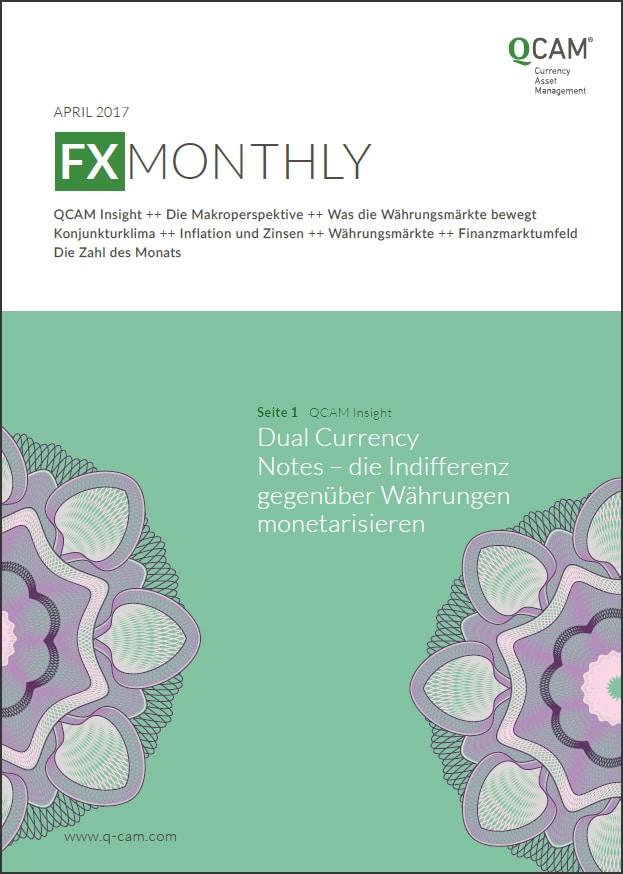 FX Monthly Titelbild April 2017