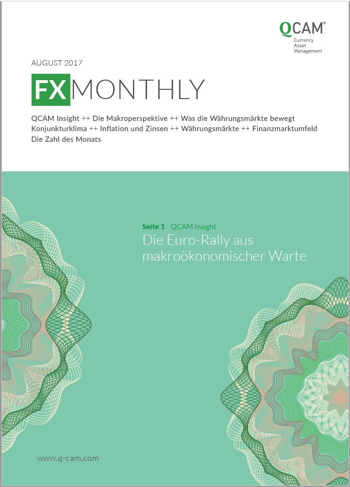 FX Monthly August 2017